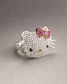 hello kitty ring - Bileklikler ve Y�z�kler (;