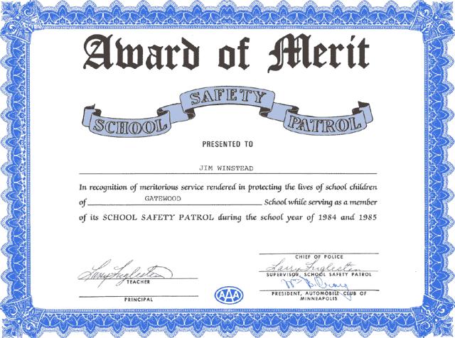 award of merit    january 3  2004 4 20pm   trainedmonkey